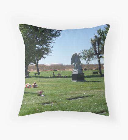 Phelan Cemetary Throw Pillow