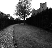 """UK: """"Pathway to Richmond Castle"""", North Yorkshire by Kelly Sutherland"""