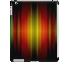 Orange light spectrum iPad Case/Skin