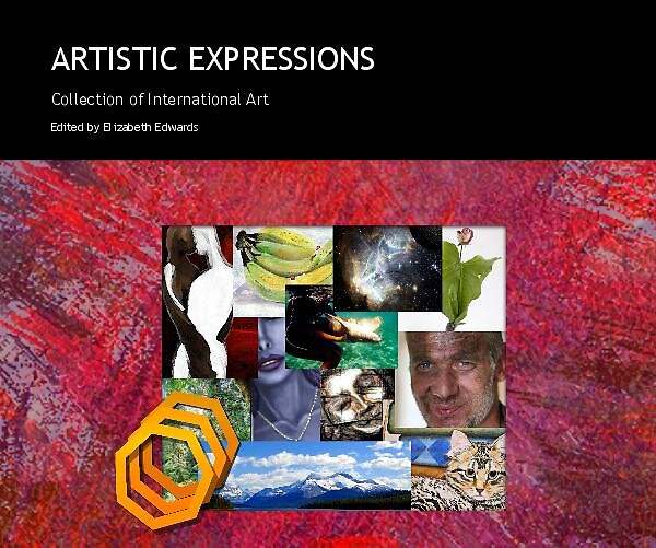 """Art book """"Artistic Expressions"""" by Kinnally"""
