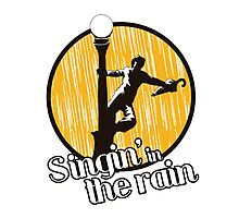 Singin in the rain Photographic Print