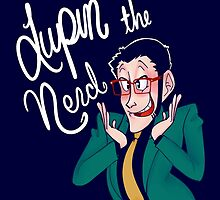 Lupin the Nerd by mandyquesadilla