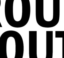 Glee: Trouty Mouth Sticker