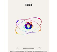 Boron - Element Art Photographic Print