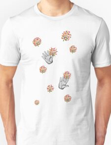A Handy Collaboration  Unisex T-Shirt
