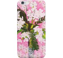 Pink and White Orchids so Shabby iPhone Case/Skin