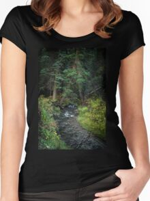 Mountain Stream Women's Fitted Scoop T-Shirt