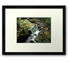 Tumbling Waters Framed Print