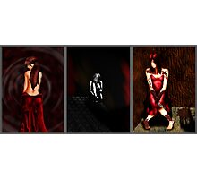 Facade Triptych Photographic Print