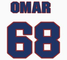 National baseball player Omar Beltre jersey 68 by imsport