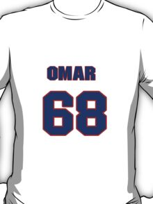 National baseball player Omar Beltre jersey 68 T-Shirt