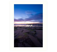 Point Lonsdale Pier at Dawn Art Print