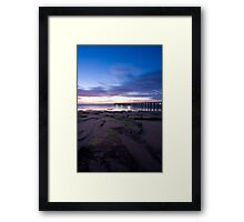 Point Lonsdale Pier at Dawn Framed Print