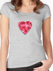 Flower Love Women's Fitted Scoop T-Shirt