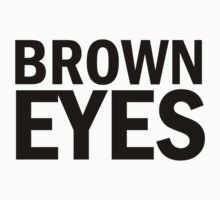 Glee: Brown Eyes by DareBearEfron