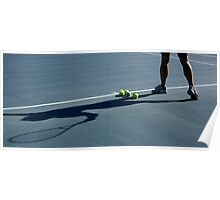 Tennis Shadow Poster