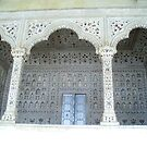 Section of Taj Mahal by Braedene