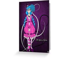 The Spirit of Lolita Greeting Card
