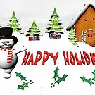 Happy Hoidays by Tammy Soulliere