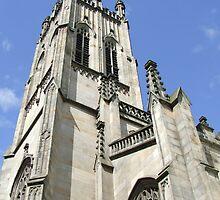 St Johns Church Tower ( Princess Street Edinburgh) by paul boast