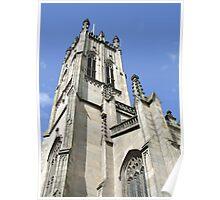St Johns Church Tower ( Princess Street Edinburgh) Poster
