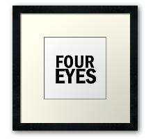 Glee: Four Eyes Framed Print