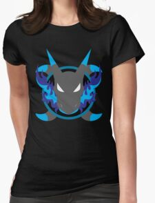 Mega Charizard X Icon Womens Fitted T-Shirt