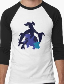 Gible Gabite Garchomp Men's Baseball ¾ T-Shirt