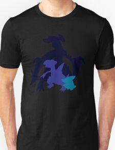Gible Gabite Garchomp Unisex T-Shirt