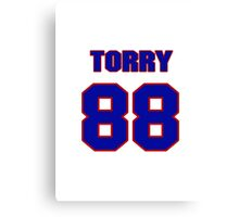 National football player Torry Holt jersey 88 Canvas Print