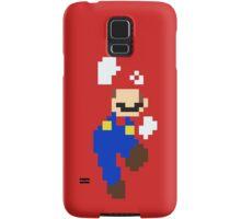 Mario pixel Samsung Galaxy Case/Skin