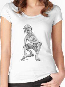 Gollum Women's Fitted Scoop T-Shirt