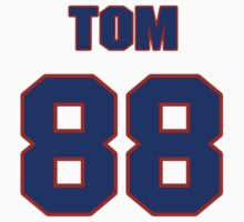 National football player Tom Day jersey 88 by imsport
