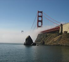 The Bay Bridge by pauseplace