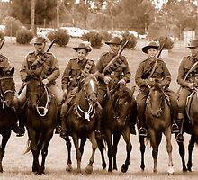 2nd Lighthorse Gatton Troop 2006 by zouchai
