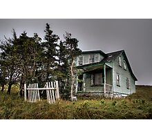 Haunted House On The Prairie Photographic Print