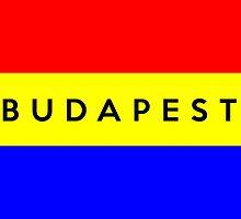 budapest city flag by tony4urban