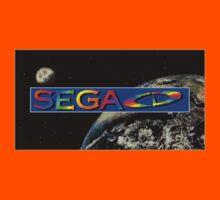 Sega CD Logo Shirt Kids Clothes