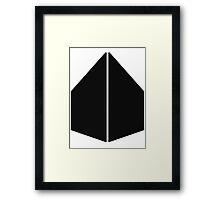 KUBE Framed Print