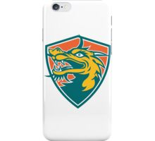 Chinese Dragon Head Shield Retro iPhone Case/Skin