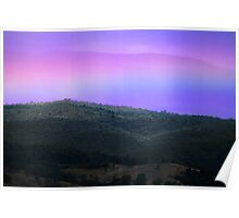 Yarra Valley Rainbow Poster
