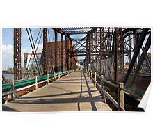 Northern Avenue Bridge Poster