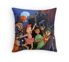 Check Your Candy for Razor Blades! Throw Pillow