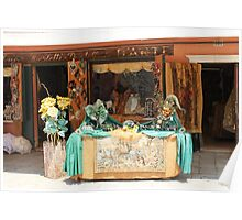 Shopfront in Burano Poster