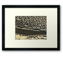 Suburb-by-the-Sea Framed Print