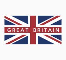 flag of United Kingdom Kids Tee