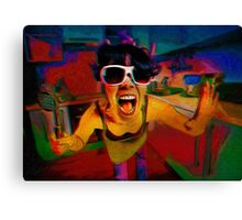 The Meat Tenderizer 3D Canvas Print