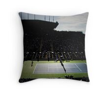 Louis Amstrong Stadium Throw Pillow