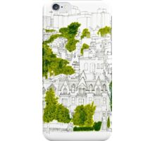 Washington from a rooftop iPhone Case/Skin