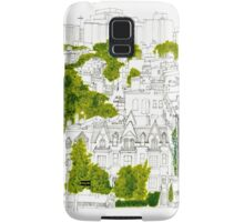 Washington from a rooftop Samsung Galaxy Case/Skin